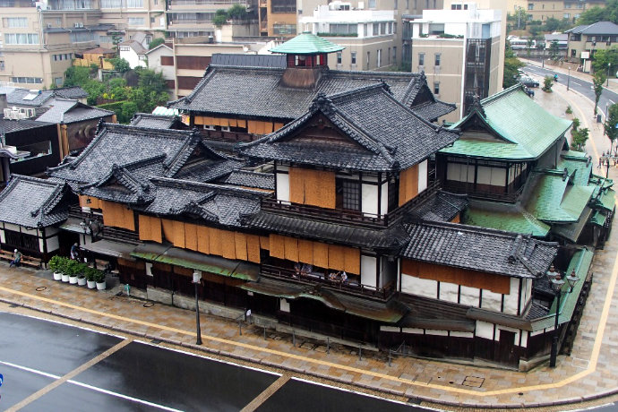 A photo of Dogo Onsen