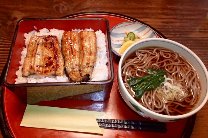 A photo of Japanese meal